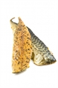 Picture of Mackerel fillets, hot smoked w/pepper, 170 gr