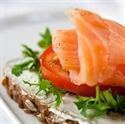 Picture of Salmon smoked traditionally, whole fillet, skin on, size 600-900 gr
